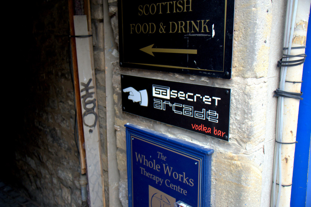 Secret Arcade Vodka Bar
